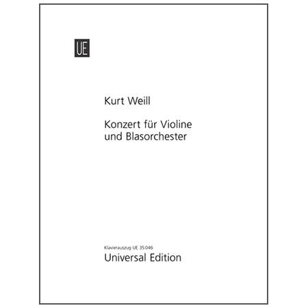 Weill, K.: Violinkonzert Op. 12