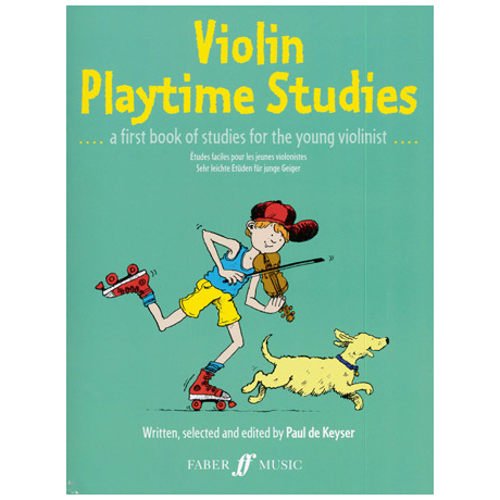 Violin Playtime Studies – Really easy studies for the young violinist