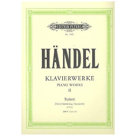 Händel, G. F.: Suiten, zweite Sammlung 1733