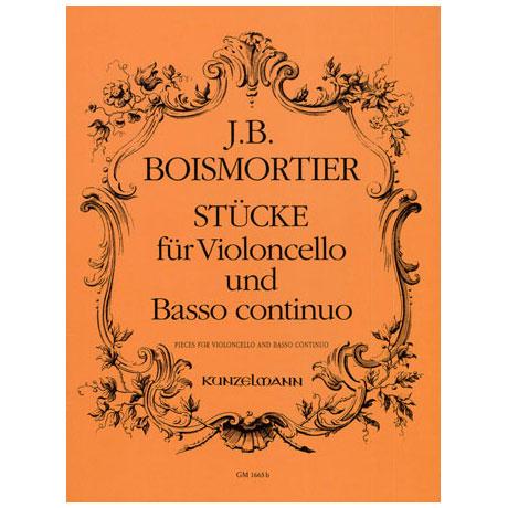 Boismortier, J. B. de: Stücke für Violoncello und Basso Continuo (ohne Opuszahl)
