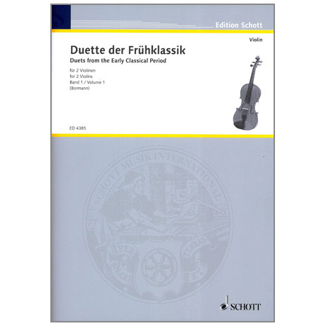 Violin-Duette der Frühklassik Band 1