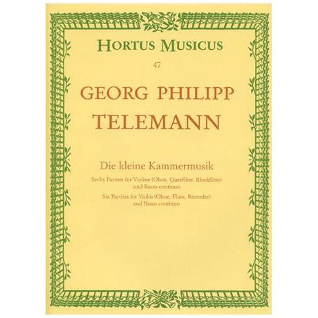Telemann, G.P.: Die kleine Kammermusik