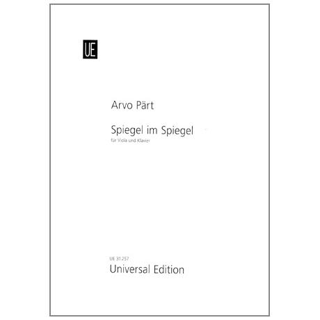 Pärt, Arvo: Spiegel im Spiegel
