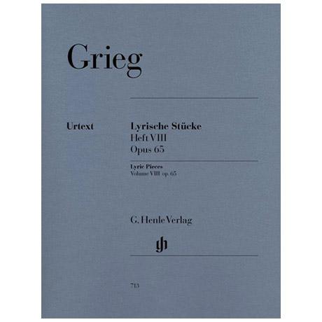 Grieg, E.: Lyrische Stücke Heft VIII Op. 65