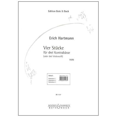 Hartmann, E.: 4 Stücke