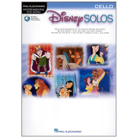 Disney Solos for Cello (+Online Audio)