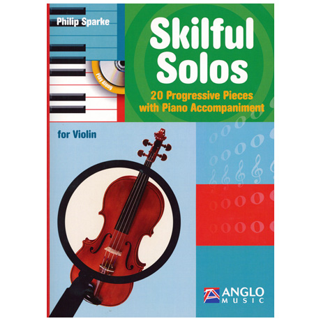 Sparke, Ph.: Skilful Solos (+CD)