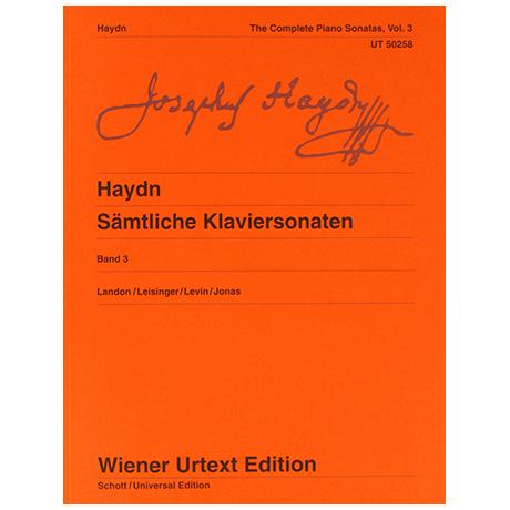 Haydn, J.: Sämtliche Klaviersonaten Band 3