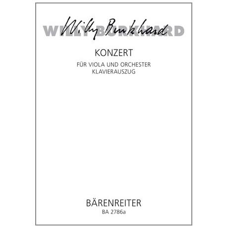 Burkhard, W.: Violakonzert (1953) Op. 93
