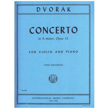 Dvořák, A.: Konzert Op. 53 a-Moll