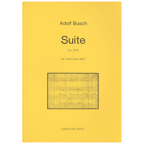 Busch, A.: Cellosuite