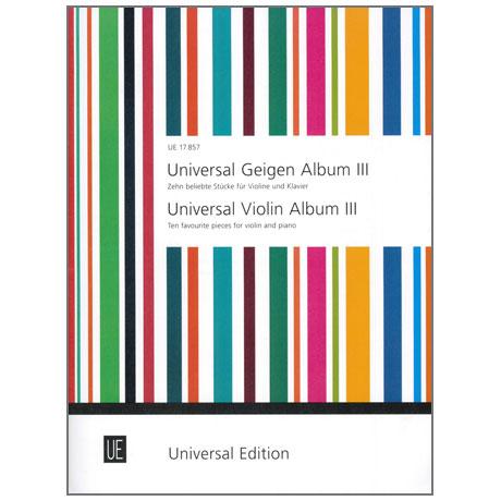 Universal Geigen Album 3