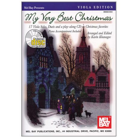 Khanagov, K: My Very Best Christmas (+CD)