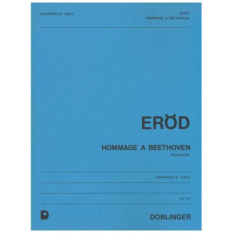 Eröd, I.: Hommage à Beethoven, Op.24