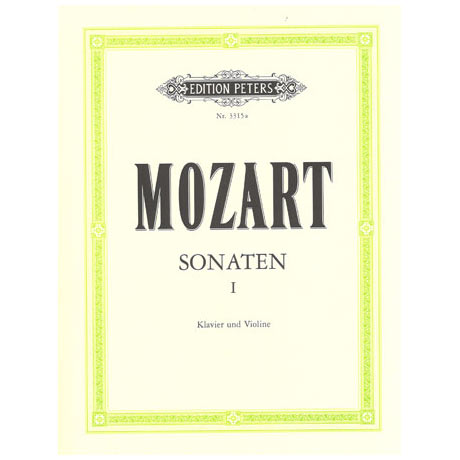 Mozart, W.A.: Violinsonaten Band 1