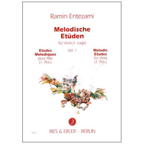 Entezami: Melodische Etüden Band 1