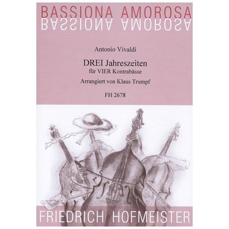 Vivaldi, A.: DREI Jahreszeiten für VIER Kontrabässe