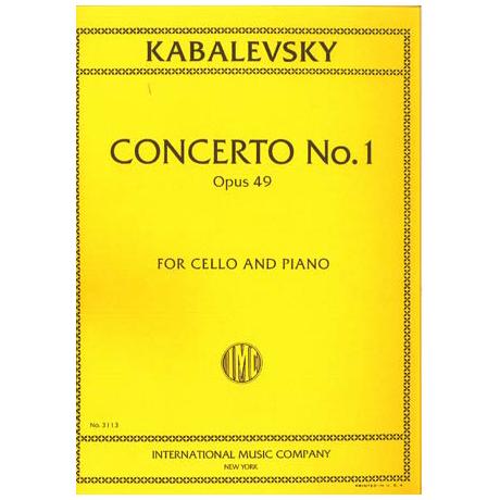 Kabalewski, D.: Violoncellokonzert Nr. 1 Op. 49 g-Moll