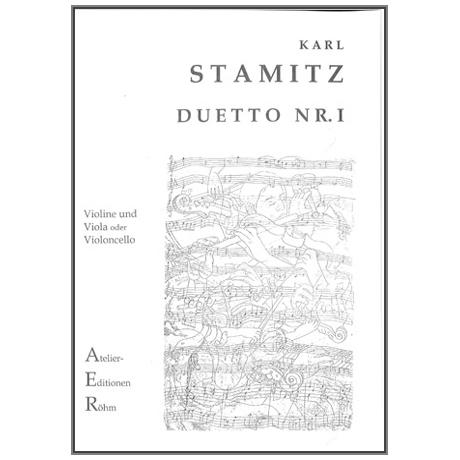 Stamitz, K.: Duett