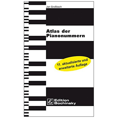Grossbach, J.: Atlas der Pianonummern