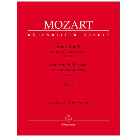 Mozart, W. A.: Klavierkonzert Nr. 11 KV 413 (387a) F-Dur