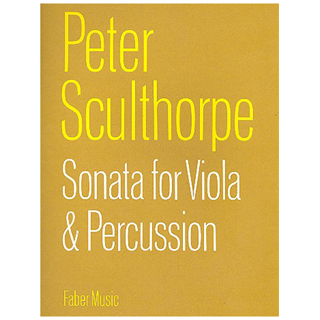 Sculthorpe, P.: Sonata for viola and percussion (1960)