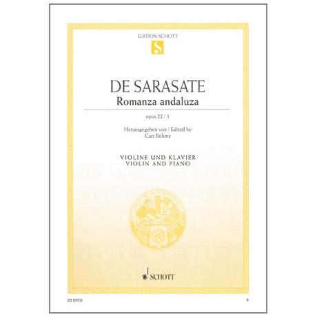 Sarasate, P. d.: Romanza Andaluza Op. 22/1