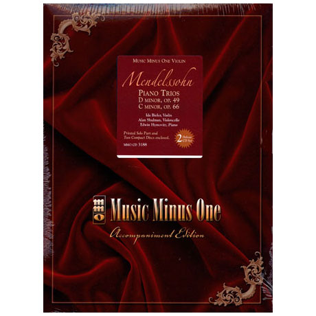 Mendelssohn Bartholdy, F.: Piano Trios Op. 49 / Op. 66 (+ 2 CDs)