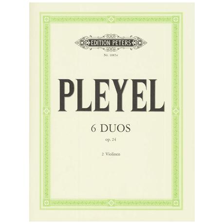 Pleyel, I.J.: 6 kleine Duos Band 2 Op.24