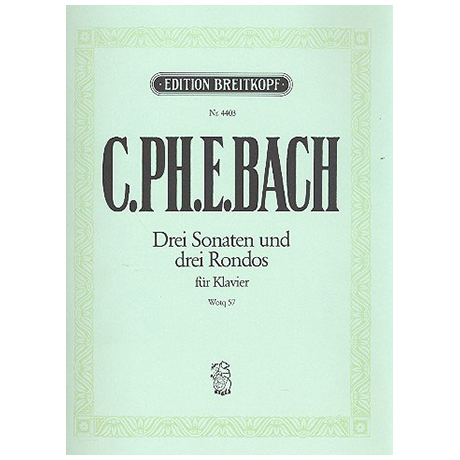 Bach, C. Ph. E.: Klaviersonaten nebst einigen Rondos Wq 57