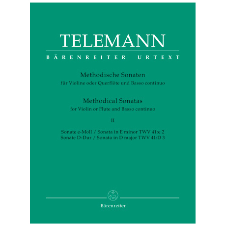 Telemann, G. Ph.: Methodische Sonaten - Band 2