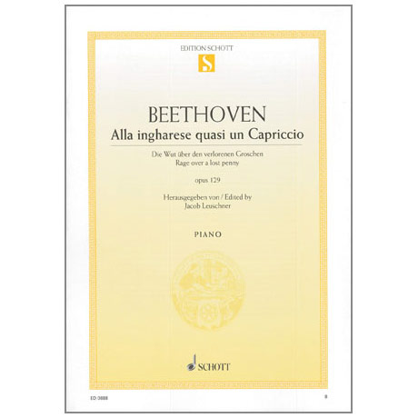 Beethoven, L.v.: Alla ingharese quasi un Capriccio Op.129