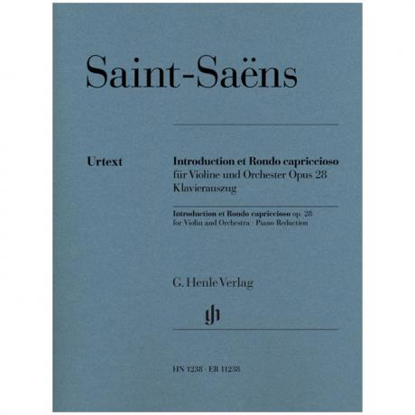 Saint-Saëns, C.: Introduction et Rondo capriccioso Op. 28
