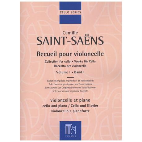Saint-Saëns, C.: Werke für Cello Band 1