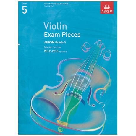 ABRSM: Selected Violin Exam Pieces Grade 5 (2012-2015)