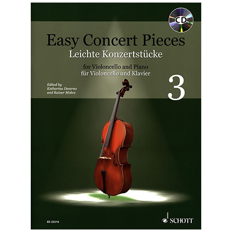 Deserno, K. / Mohrs, R.: Easy Concert Pieces Band 3 (+CD)