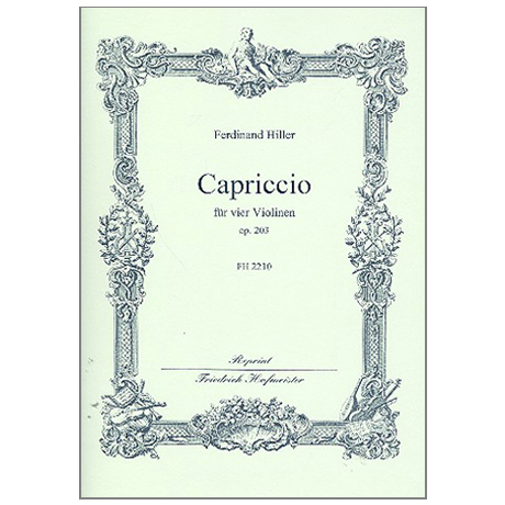 Hiller, F.: Capriccio Op. 203