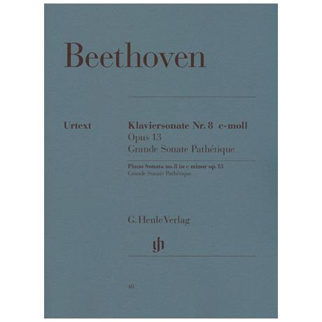 Beethoven, L. v.: Klaviersonate Nr. 8 c-Moll Op. 13