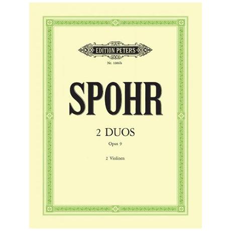Spohr, L.: 2 Duos Op.9