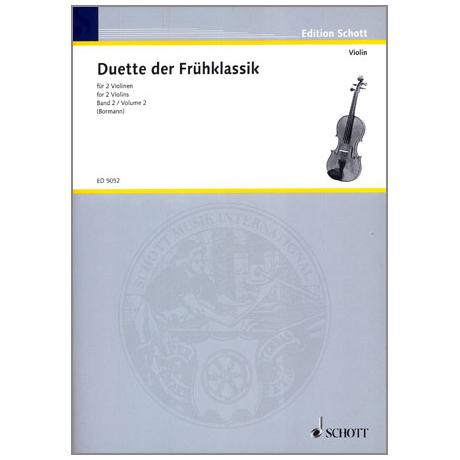Violin-Duette der Frühklassik Band 2