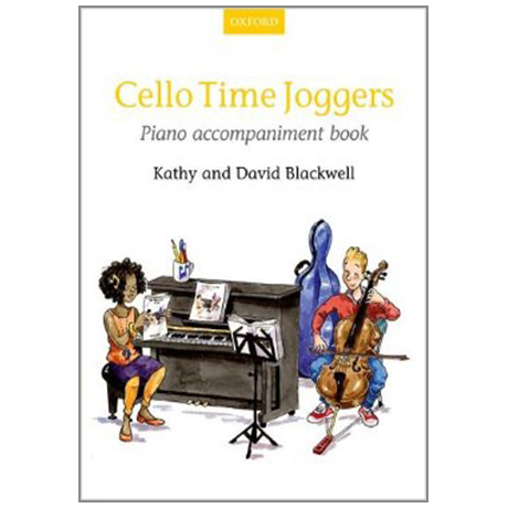 Blackwell, K. & D.: Cello Time Joggers – Klavierbegleitung