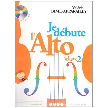Bime-Apparailly, V.: Der Anfang auf der Bratsche Band 2 (+CD)