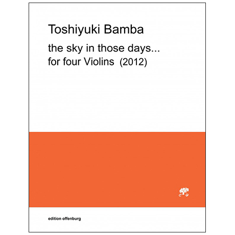 Bamba, T.: the sky in those days… (2012)