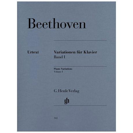 Beethoven, L. v.: Variationen für Klavier Band I