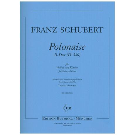Schubert, F.: Polonaise D 580 B-Dur