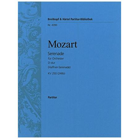 Mozart, W. A.: Serenade D-Dur KV 250 (248b)