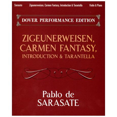 Sarasate, P. d.: Zigeunerweisen / Carmen Fantasy / Introduction & Tarantella