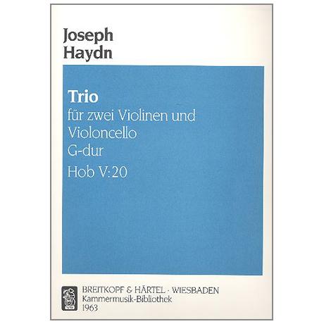Haydn, J.: Trio G-Dur, Hob. V:20
