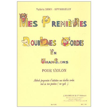 Bime-Apparailly, V.: Mes premières Doubles Cordes en Chansons – Violon