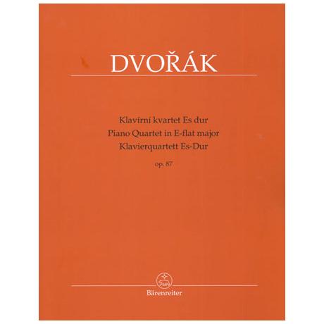 Dvořák, A.: Klavierquartett Op. 87 Es-Dur